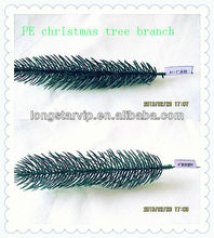 PE Decorative Hanging Decorative Artificial Pine Tree Banches