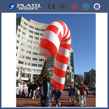 2014 PVC giant inflatable christmas candy cane, giant christmas inflatables