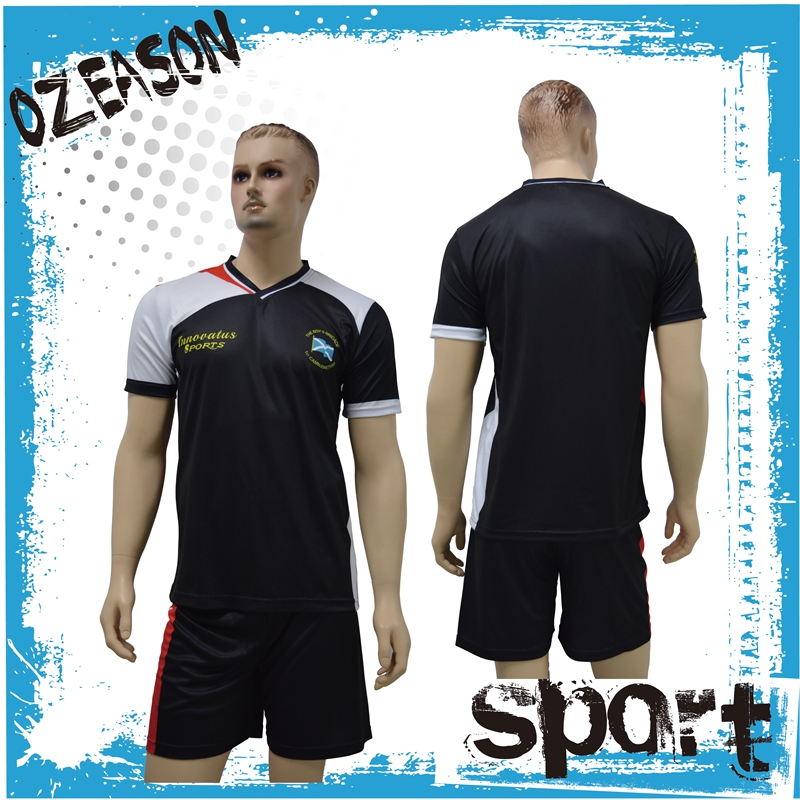 Custom made sublimation soccer jersey