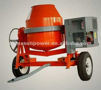Car Tow Concrete Mixer