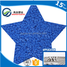 Automotive industry plastic raw materials, pvc granule for pvc injection pellets,7 days fast delivery for 10 tons