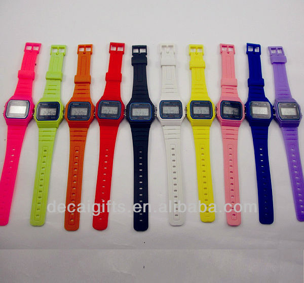 2014 Vogue watches plastic watch Custom digital watch