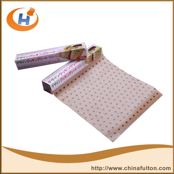 Greaseproof glossy glassine paper wrapping foods grade