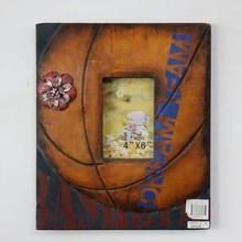Children funny lovely basketball photo frame