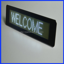 Bank Rates/ Exchange Rate Screen Led Moving Message Sign Led Display Board