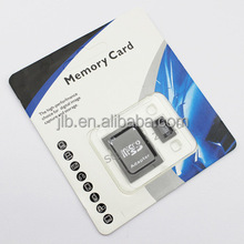OEM customized micro SD memory Card Blister Packaging