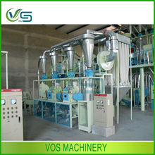 indian automatic Corn Flour Processing Plant/corn grits machine/corn flour milling in hot sell