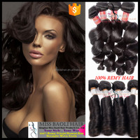 Double Weft 2016 Best Selling Cuticles 100% Human Hair Wholesale Factory price Mink Brazilian Hair