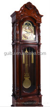 Retro Unique Hot Selling Pendulum Church Style Standing Clock for Vintage House decor