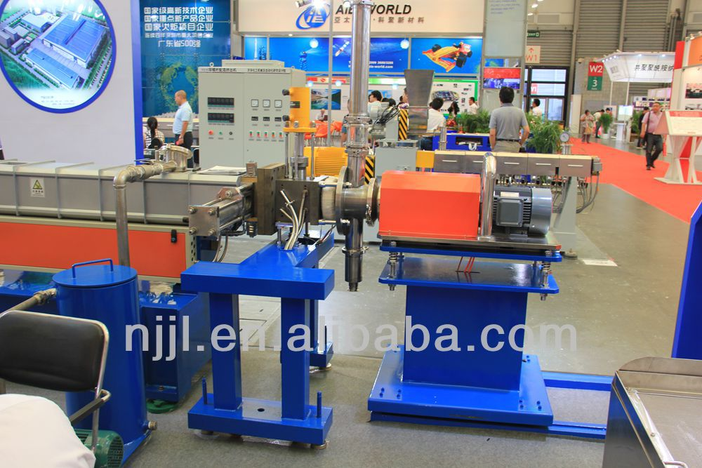 SHJ-65 co-rotating twin screw extruder/Underwater pelletizing /TPU/TPE/TPV/PA/PET granule making