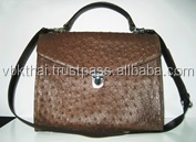 High Quality of Ostrich Leather Handbag From Thailand