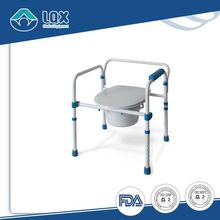 Home care commode chair for elderly Shower Commode Chairs