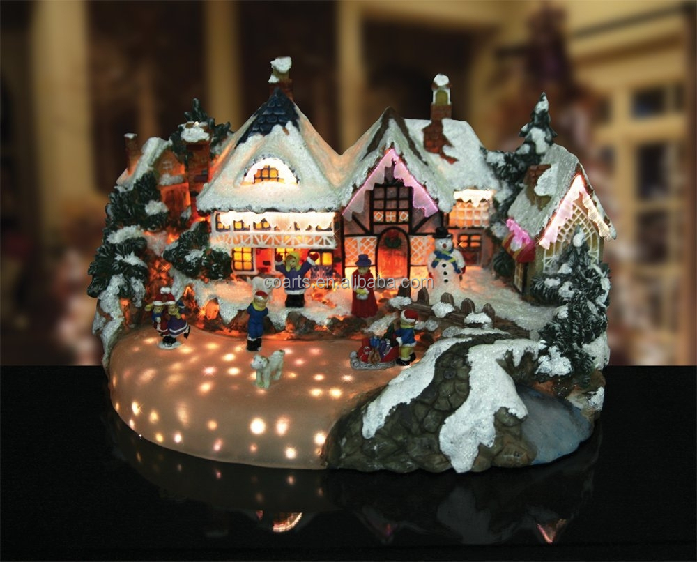 Christmas village, Lighted, Musical & Animated