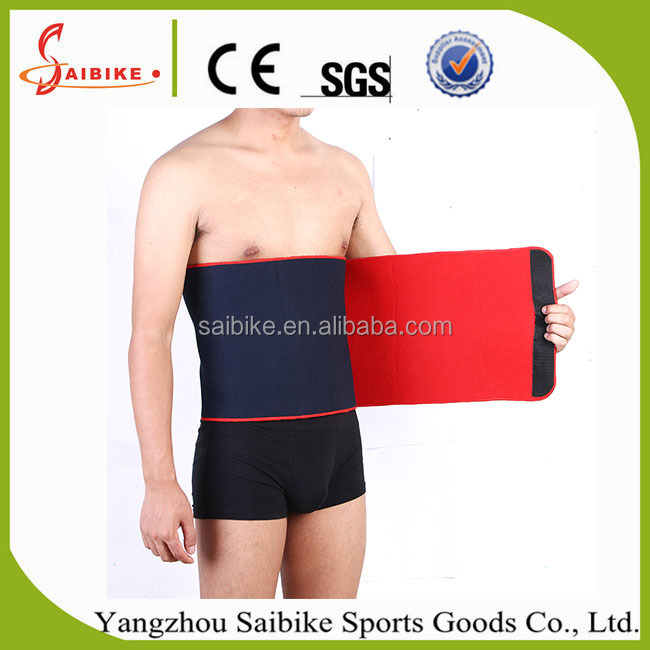 Exercise diet lose weight stomach neoprene breathable belt slimmer waist