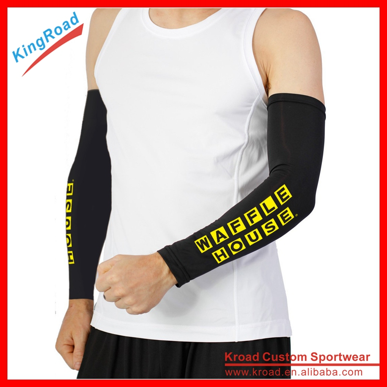 Wholesale protective basketball arm sleeves for cycling