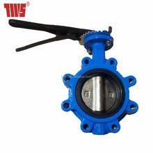 TWS Bare Shaft Lug Butterfly Valve with Tapper Pin