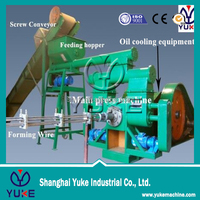 Shanghai Yuke rice husk briquette making press machine