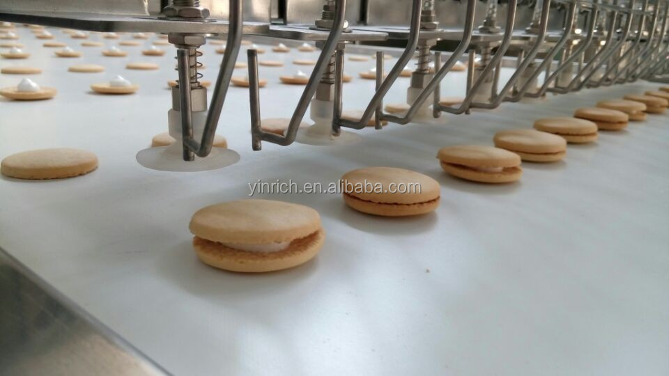 JXJ 600 High capacities PLC controller automatic sandwich machine
