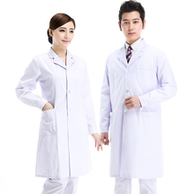 2018 New Hot sale high quality most popular twill shiny cotton white nurse uniform fabric wholesale