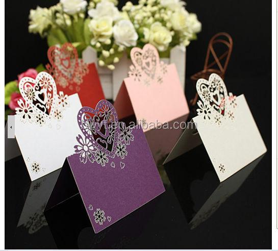 2014 New Design Wedding Invitation Card Wedding Card Accept Custom