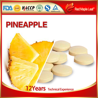 Private Label Promote Digestion Bromelain Enzyme Pineapple Tablets