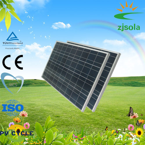 ZJSOLA new green energy 150W polycrystalline solar panels price per watts pv module home