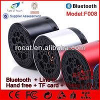 Big sound new arrival mini bluetooth speaker 3 watt speaker with handsfree calling function