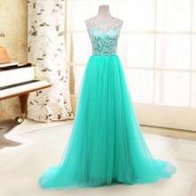 Dress lace skirt Princess Ball Gown Inspired formal evening Gown Prom Dress