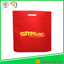 Customized Multicolor Choice Non-woven Foldable Hanging Storage Bag, Non Woven Die Cut Handle Bag