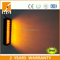 31.5inch car accessories dual color Off-Road 180W Dynamic LED Light Bar amber/ white changeable