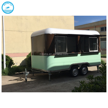 2015 New arrival semi-trailer food truck/mobile trailer food/concession food trailer