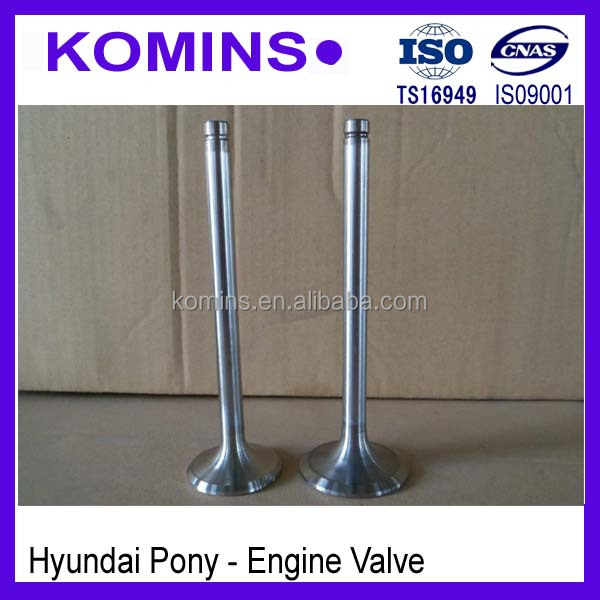 22212-11100 22211-11000 Intake and Exhaust Engine Valve for Hyundai Starex