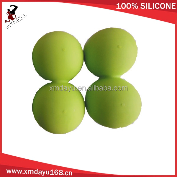 Double lacrosse ball for body therapy balls with Small qty wholesale