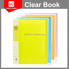 A4 Pre Cut Clear Self Adhesive Book Cover/ Precut Laminate Sheets for Book Covering from factory