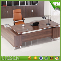 Cheap price factory direct boss office furniture set cheap modern solid surface office desk
