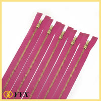 wholesale metal zipper for jeans pants and trousers magnetic zipper