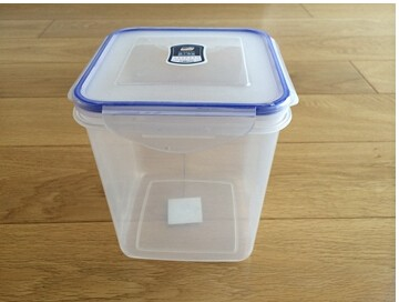 HZ-826 Press Fit Plastic Container For Food.