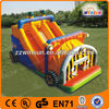 outdoor cheap car inflatable slip and slide WSS-028