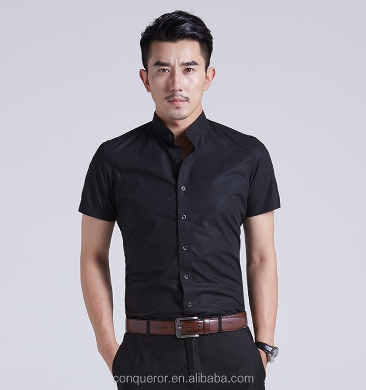 fashionable short sleeve summer burburry men shirt