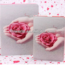 FL3257 Guangzhou 2013 new arrival rose flower case cover for ipad mini 2 case