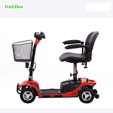 Mini four 4 wheels electric one person 1 seat 2 seat lightweight folidng mobility scooter for sale