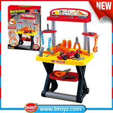 little mechhanic plastic tool toy workshop play set for kids