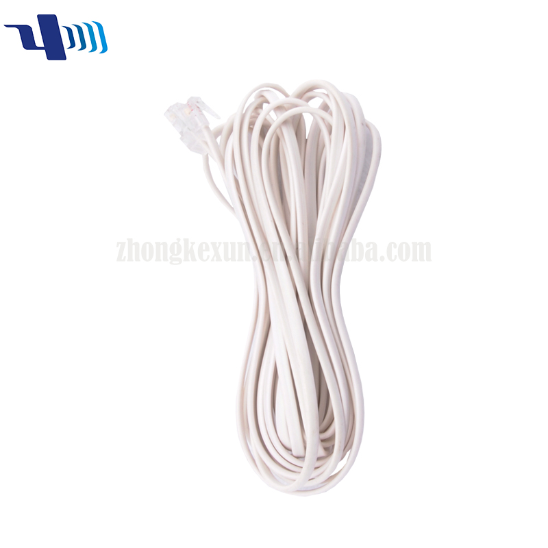 RJ11 6P4C 28AWG Telephone cable
