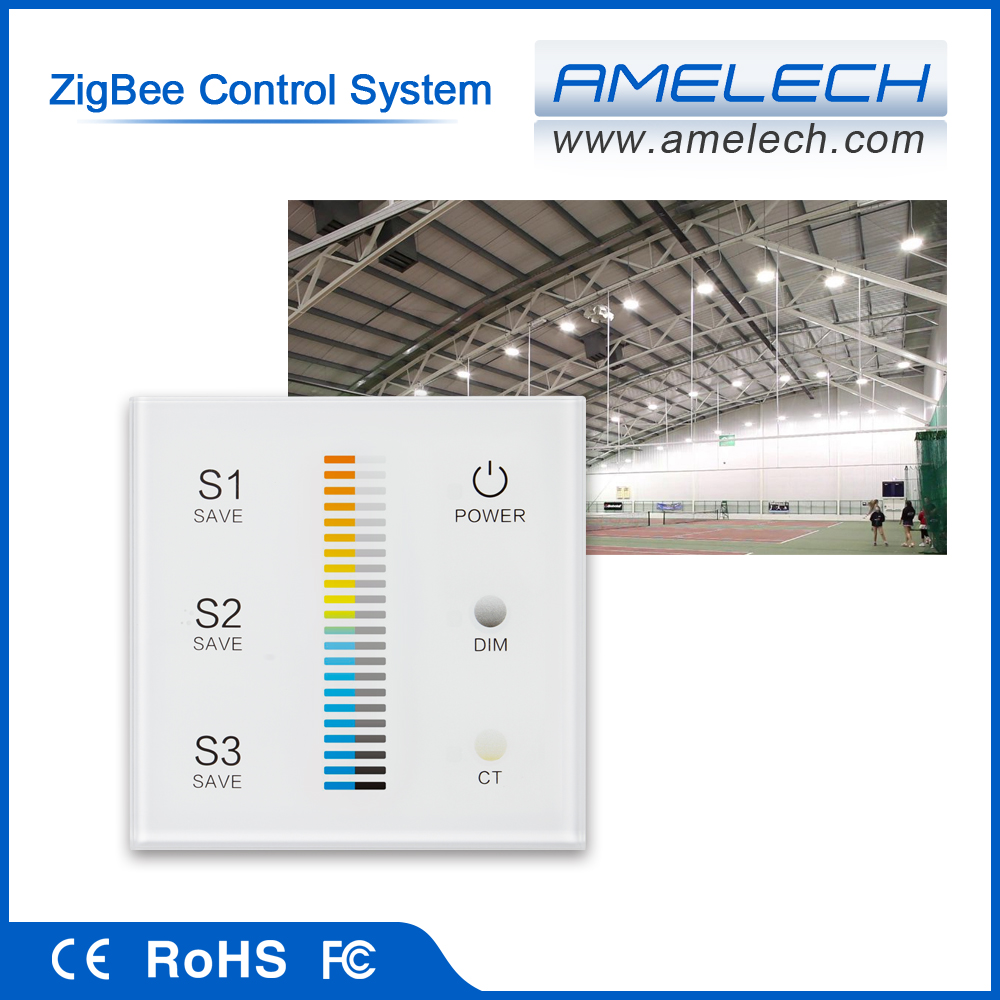 for rgb led wireless light zigbee 2.4g smart home light control