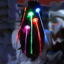 Wholesale supply! Explosion models luminous braids, Diba, party, dances, Christmas supplies