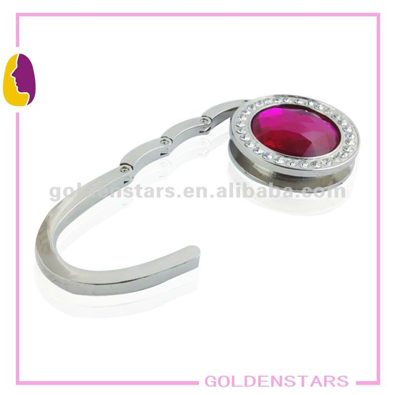 Red Crystal Business Customize Purse Hook