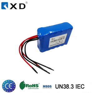 3S4P 18650 li-ion rechargeable cordless drill battery 12 volt 8800mah