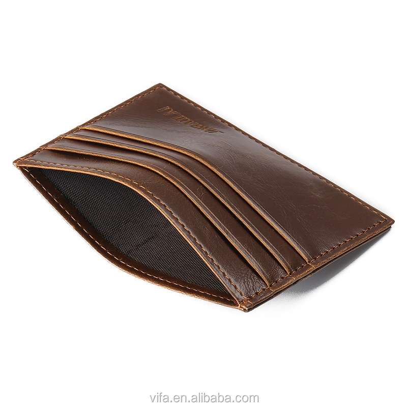 High Quality PU Leather Slim Thin Men Card <strong>Wallet</strong>