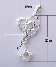 Gets.com 925 sterling silver sterling silver heart prayer box charm