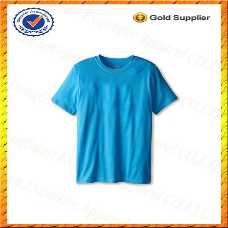 custom design boys kids slim fit blank t-shirt wholesale